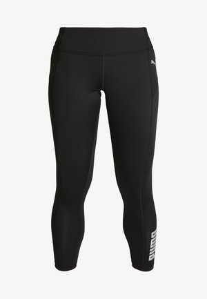 LOGO - Legging - puma black