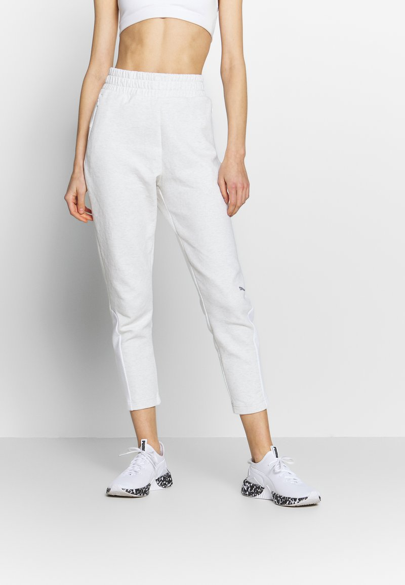 Puma - EVOSTRIPE - Trainingsbroek - puma white heather