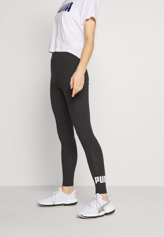 ESS LOGO LEGGINGS - Punčochy - dark gray heather