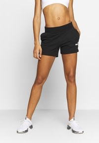 Puma - SHORTS - kurze Sporthose - cotton black - 0