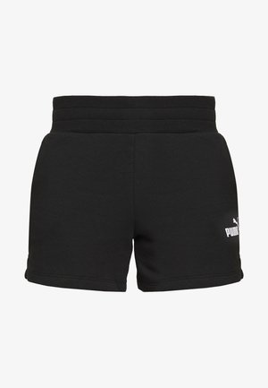 SHORTS - Sports shorts - cotton black