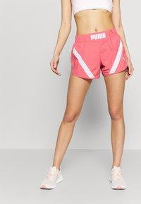 Puma - STUDIO CLASH ACTIVE SHORTS - Sports shorts - rapture rose - 0