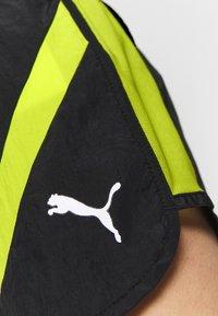 Puma - STUDIO CLASH ACTIVE SHORTS - Sports shorts - black - 5