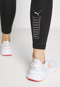 Puma - NU-TILITY HIGH WAIST 7/8 LEGGINGS - Trikoot - black - 3