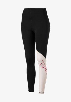 Leggings - puma black-barely pink