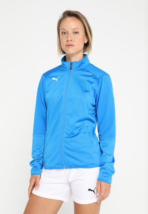LIGA JACKET - Kurtka sportowa - electric blue lemonade/white