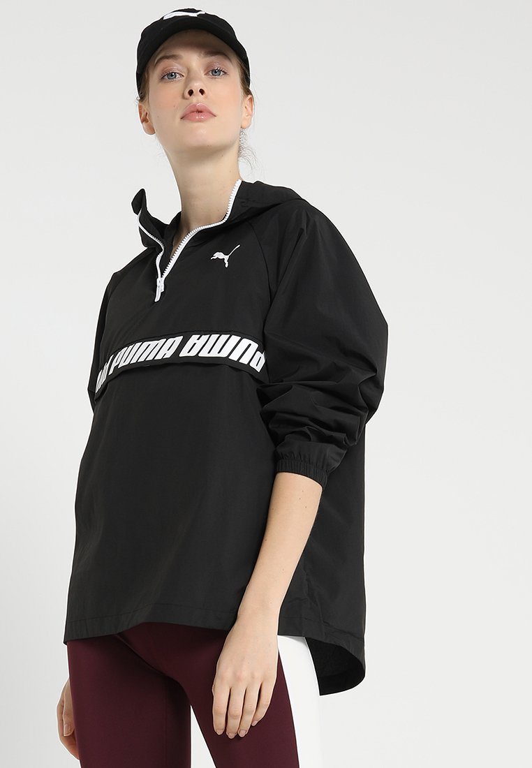 Puma - ZIP MODERN SPORTS - Trainingsjacke - black