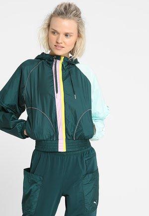 COSMIC JACKET - Sportovní bunda - ponderosa pine/fair aqua