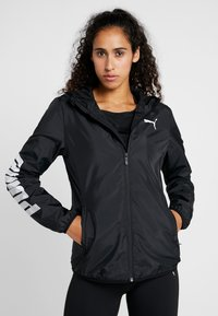 Puma - GRAPHICS - Trainingsjacke - black - 0