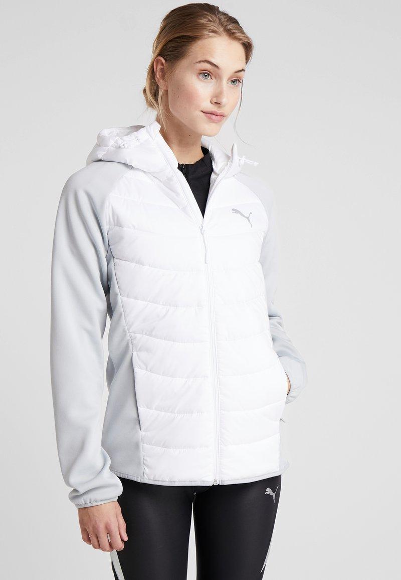 Puma - HYBRID STYLE JACKET - Waterproof jacket - puma white/high rise