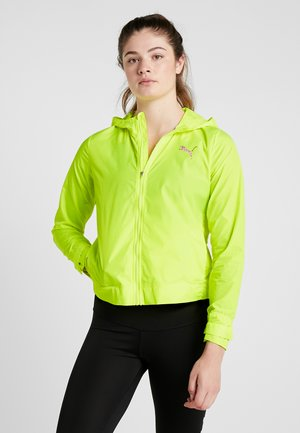 SHIFT PACKABLE JACKET - Chaqueta de entrenamiento - yellow alert