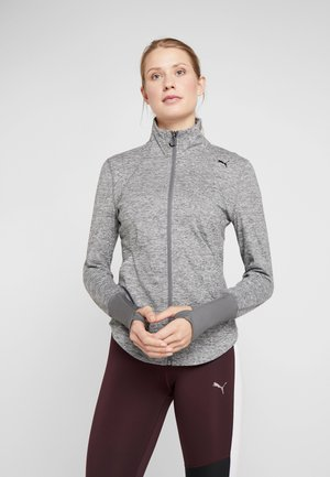 STUDIO JACKET - Chaqueta de entrenamiento - medium gray heather