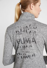 Puma - STUDIO JACKET - Veste de survêtement - medium gray heather - 5
