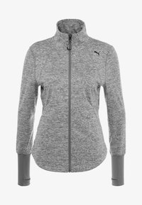 Puma - STUDIO JACKET - Veste de survêtement - medium gray heather - 4