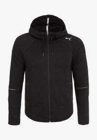 Puma - EVOSTRIPE MOVE KAPUZEN - Sports jacket - black - 0