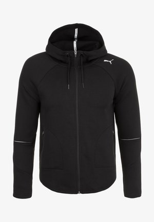 EVOSTRIPE MOVE KAPUZEN - Sports jacket - black