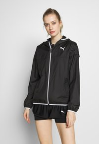 Puma - ESSENTIALS SOLID  - Veste coupe-vent - black - 0