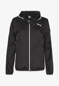 Puma - ESSENTIALS SOLID  - Veste coupe-vent - black - 5