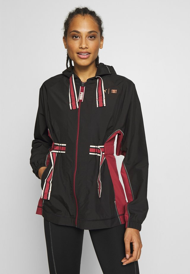 THE FIRST MILE ANORAK - Training jacket - black-burnt russet