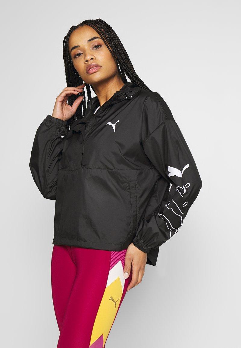 Puma - 1/2 ZIP JACKET - Training jacket - black