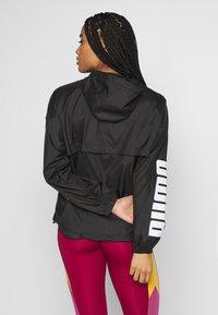 Puma - 1/2 ZIP JACKET - Training jacket - black - 2