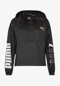 Puma - 1/2 ZIP JACKET - Training jacket - black - 4