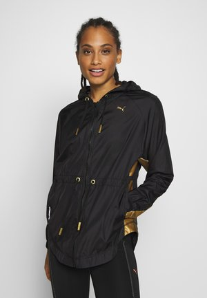 METAL SPLASH ANORAK - Training jacket - black