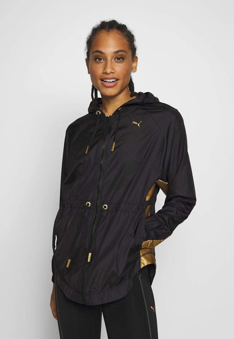 Puma - METAL SPLASH ANORAK - Training jacket - black