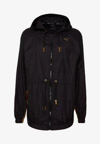 Puma - METAL SPLASH ANORAK - Training jacket - black - 4