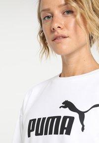 Puma - LOGO CREW - Mikina - white - 5
