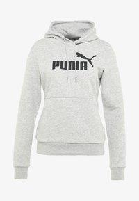 Puma - ESS LOGO HOODY  - Hoodie - light gray heather - 4