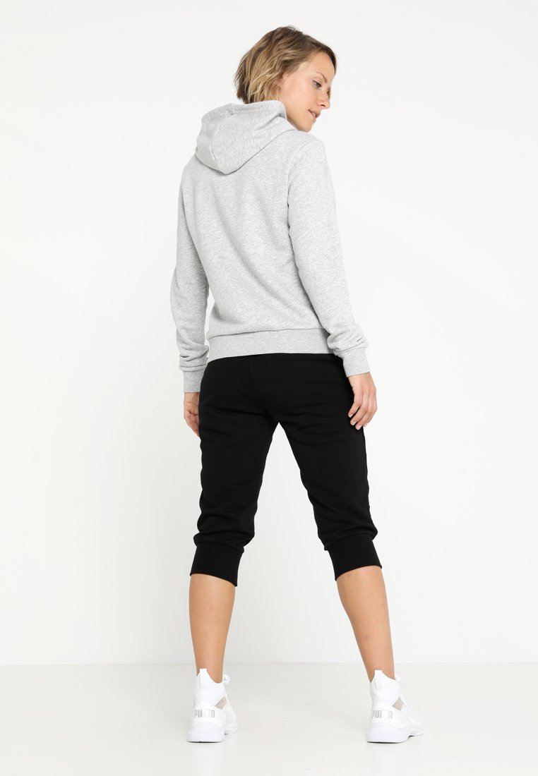 À Logo Capuche Gray Heather HoodySweat Puma Ess Light 0wv8mNn