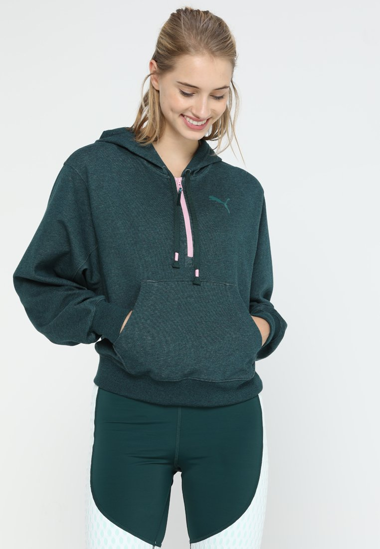 Puma - Zip-up hoodie - ponderosa pine heather