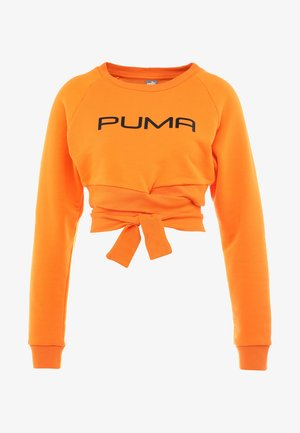 CROSS OVER  - Sweatshirt - russet orange