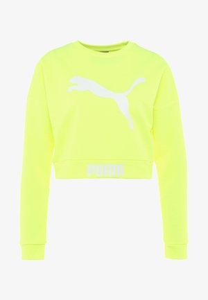 CREW - Sweatshirt - safety yellow