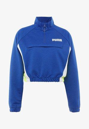 HALF ZIP - Sweater - clematis blue