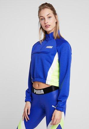 HALF ZIP - Sweatshirt - clematis blue