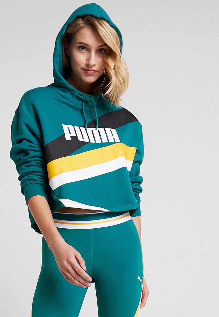 Puma - HOODIE - Jersey con capucha - harbour blue