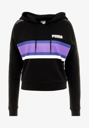 PERFORMANCE HOODIE - Sweat à capuche - black