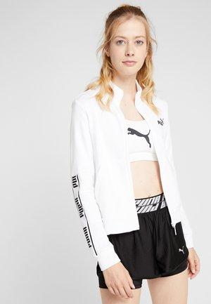 AMPLIFIED JACKET  - Zip-up hoodie - puma white