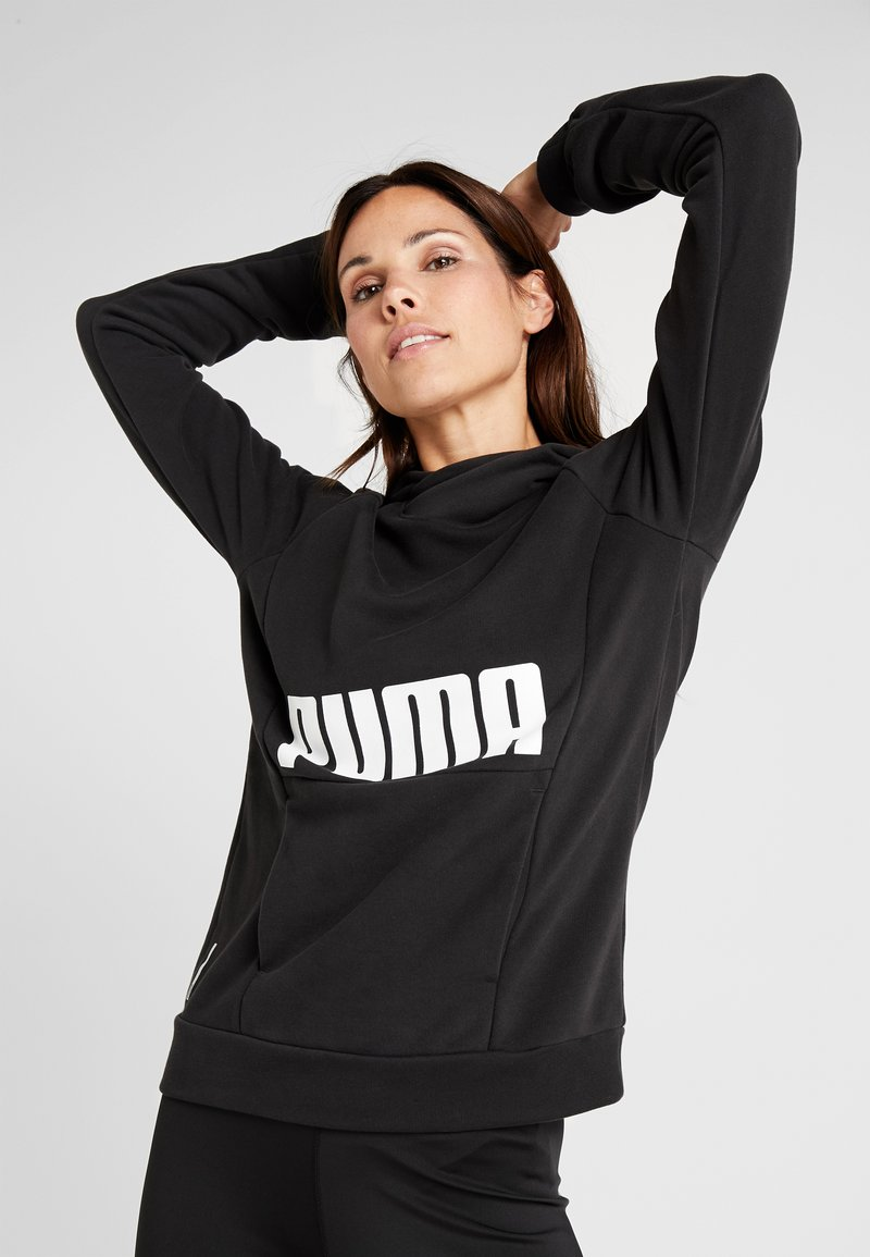 Puma - FAV HOODIE - Hoodie - black