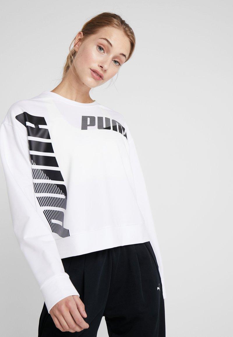 Puma - MODERN SPORT CREW  - Felpa - white