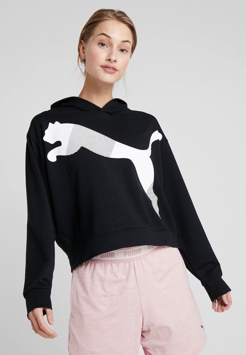 Puma - MODERN SPORT HOODY - Jersey con capucha - black