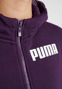 Puma - NU TILITY HOODY - Collegetakki - plum purple - 8
