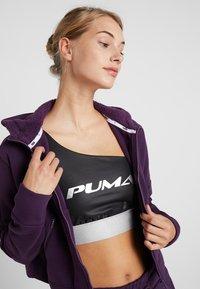 Puma - NU TILITY HOODY - Collegetakki - plum purple - 4