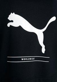 Puma - NU TILITY HOODY - Zip-up hoodie - puma black - 4