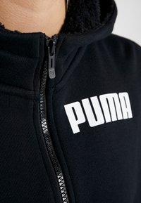 Puma - NU TILITY HOODY - Zip-up hoodie - puma black - 7
