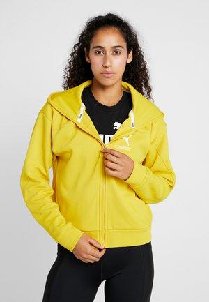 TILITY HOODY - Zip-up hoodie - sulphur