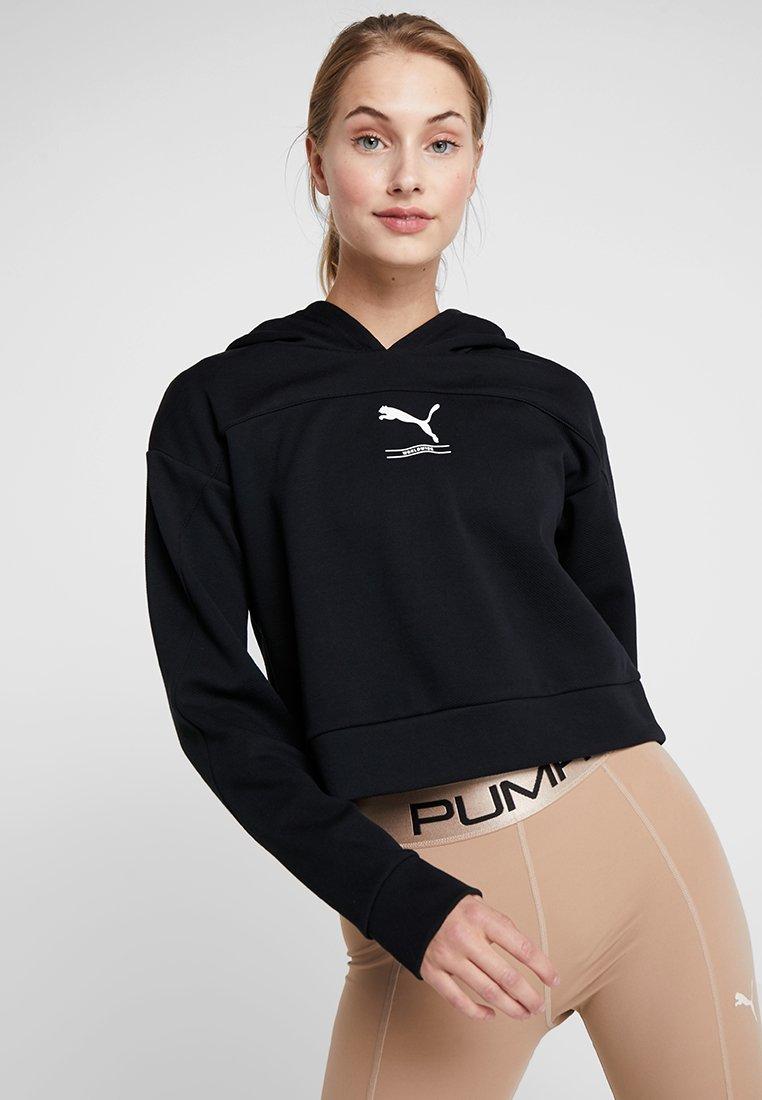 Puma - NUTILITY HOODY - Sweatshirts - black