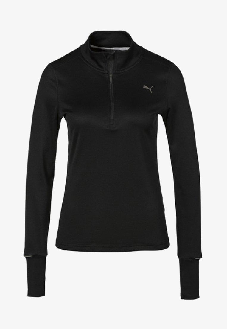 Puma - Stickad tröja - puma black